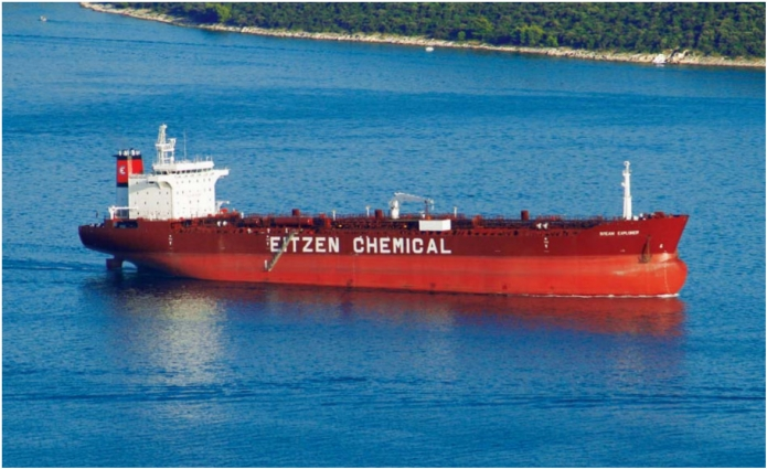 "CHEMICAL AND OIL PRODUCTS TANKER OF 46 190 DWT M/T  (EITZEN CHEMICAL) - ""SITEAM EXPLORER"""