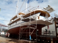 Aria, President and Vilma Repaired in Big Dock 15
