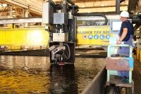 Steel Cutting for Hull 352 Begins