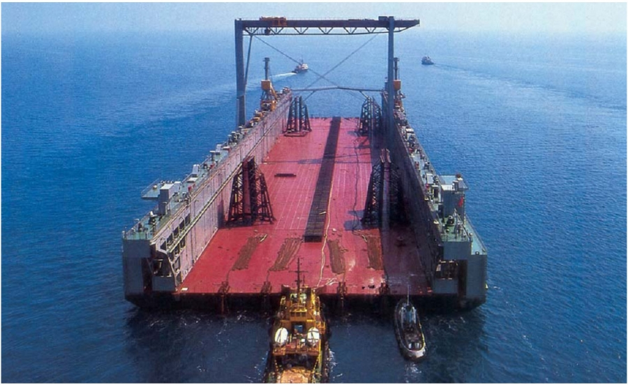 Floating Dock Of 60 000 M T Lifting Capacity