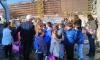 Elementary-School Pupils from Primorski Dolac Visit Shipyard