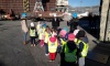 Children from Ribola day-care centre visited the Shipyard