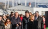 Prime Minister Zoran Milanović attended tanker launching and signing of construction contract for six ships at the Brodotrogir shipyard