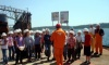 Trogir primary school pupils visited the shipyard