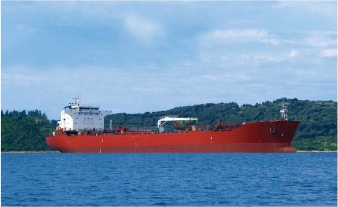 "OIL AND CHEMICAL TANKER OF 40 700 DWT (NOVOSHIP) – MT/ T ""TROGIR"""